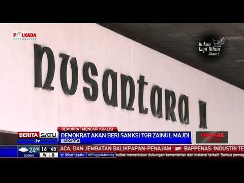 Dukung Jokowi 2 Periode, TGB akan Kena Sanksi Partai Demokrat