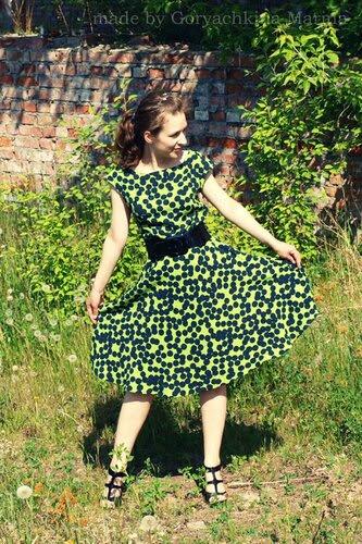 Зеленый цвет лета