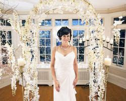 The Good Witch's wedding dress in the Hallmark series