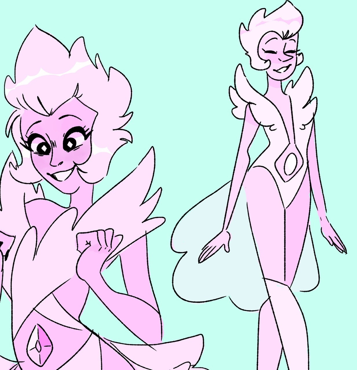 idk just some pink d and pink porl ideas