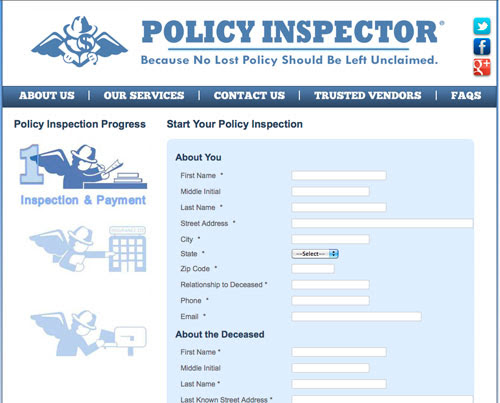 Find Lost, Unclaimed Life Insurance Policies with Policy ...