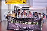 Mister International 2012 Ali Hammoud and Mister Singapore 2012 Ron Teh Arrival at Jakarta Gallery