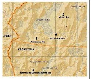 Sitios candidatos para el E-ELT en la Puna Argentina