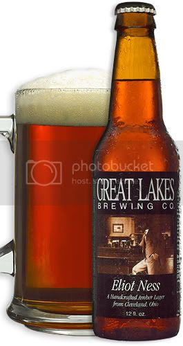 Eliot Ness Amber Lager by the Great Lakes Brewing Company