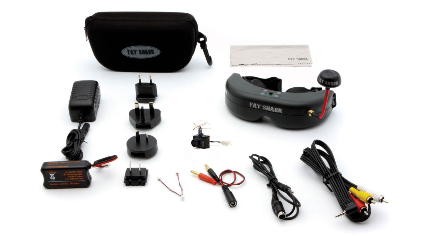 Image for Ultra Micro FPV System with Headset from HorizonHobby