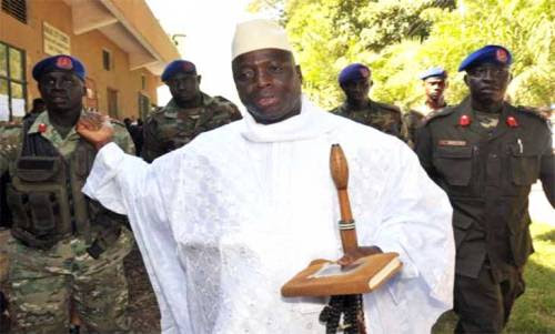 Image result for President of The Gambia, Yahya Jammeh was unknown as at Thursday.