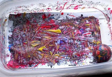 top ile boyama yapmak okul oencesi etkinlik faliyetleri