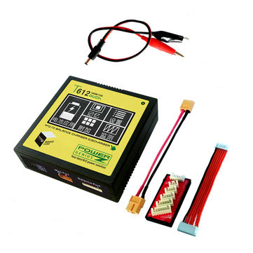 Power Genius PG T612 160W 12A Battery Balance Charger Touch Screen Support 4.35V 4.4V LiHV