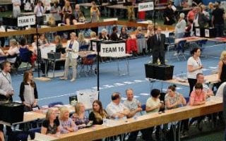 Final preparations for counting in Sunderland