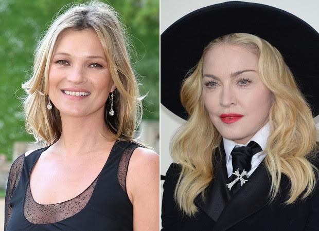 Kate Moss e Madonna estão entre as personalidades que consomem regularmente frutas vermelhas (Foto: Getty Images)