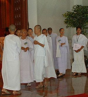 Mae ji in Bangkok