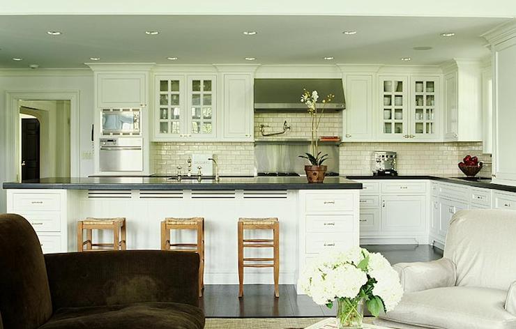 Seagrass Barstool - Transitional - kitchen - Alisberg Parker ...