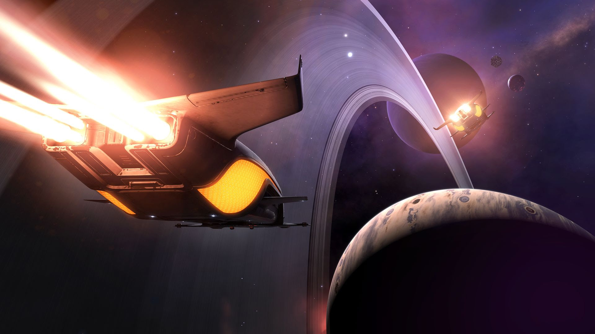 Elite: Dangerous is coming to PS4 alongside a retail release in June screenshot