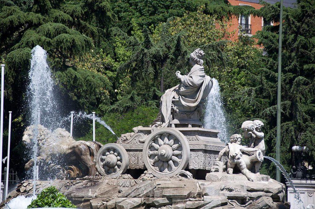 Fuente de Cibeles. Madrid