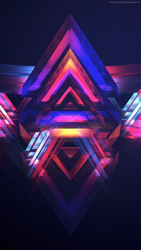 abstract wallpaper poligoni wallpaper iphone  hd abstract