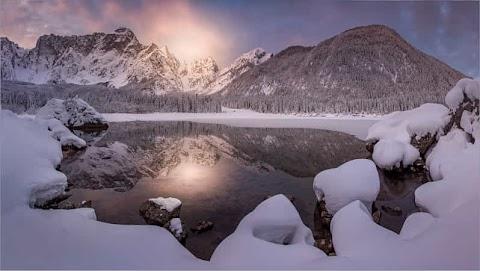 Lago di Fusine by Friedrich Beren