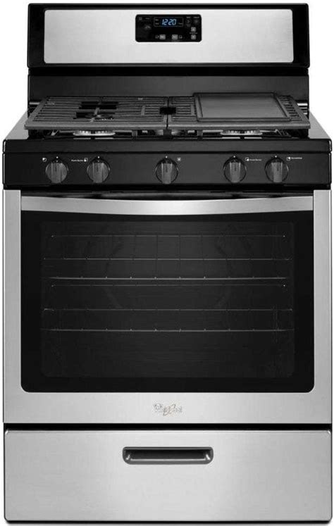 WFG505M0BS by Whirlpool - Natural Gas Ranges | Goedekers
