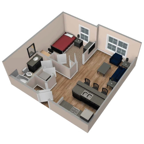 Rumah Minimalis Type 21 Untuk Keluarga Kecil Harmonis