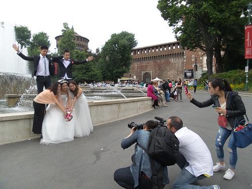 Servizio fotografico agli sposi cinesi! by Ylbert Durishti
