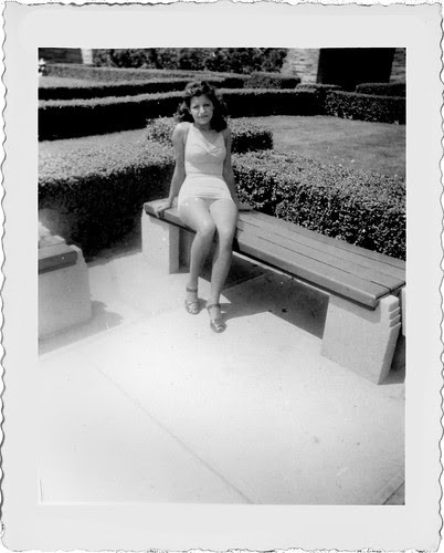 Holli on bench L858