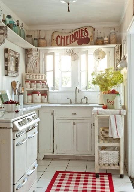 Vintage-Inspired Inglewood Cottage - eclectic - kitchen - los ...