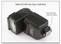 AS1032: Nikon SB-600 Aux Sync Jack Mod