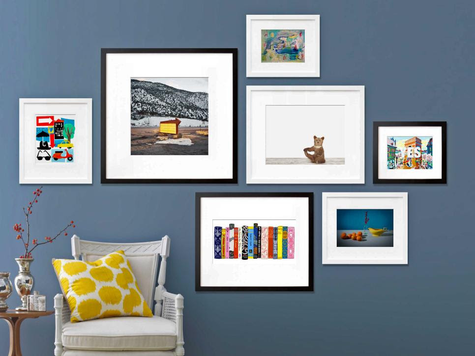 Gallery Wall The Wall Space Picture Frames Blog