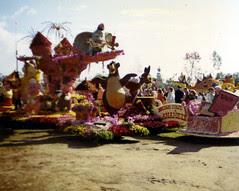 Anaheim Rose Parade Float