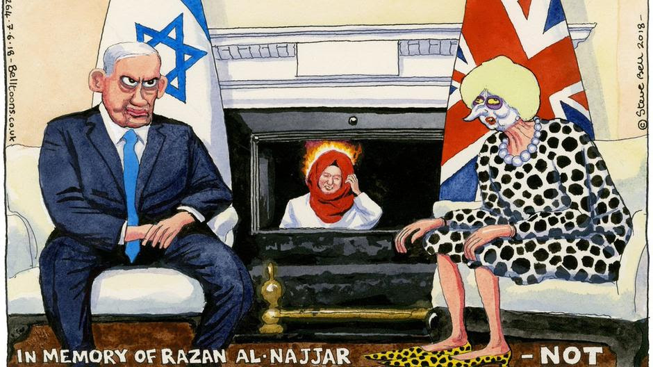 The Steve Bell cartoon censored for 'antisemitism'