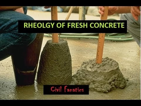 Rheology of Concrete- Factors Affecting Rheological Properties of Concrete
