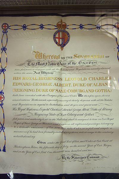 File:Gotha Order of the Garter.JPG
