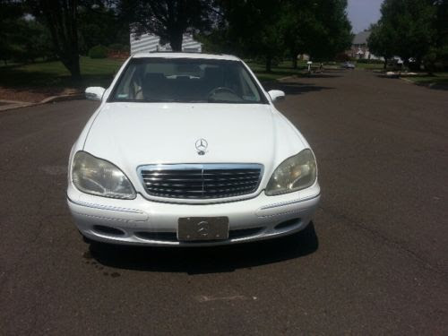 Sell used 2001 mercedes S430 in Southampton, Pennsylvania ...