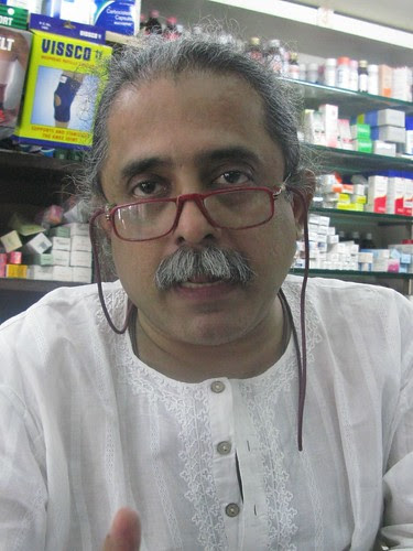 Mr Nair of Bandra Medical Stores by firoze shakir photographerno1