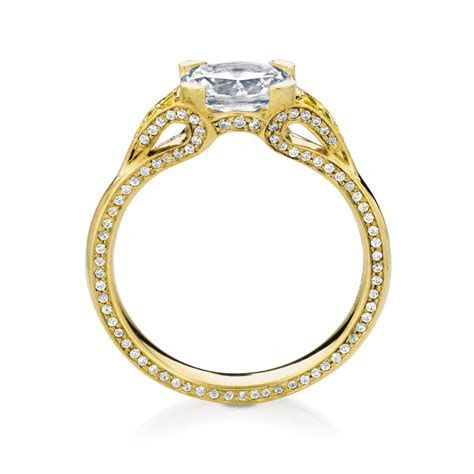 EORSA/OVAL/PAVE engagement ring by MaeVona: Oval cut