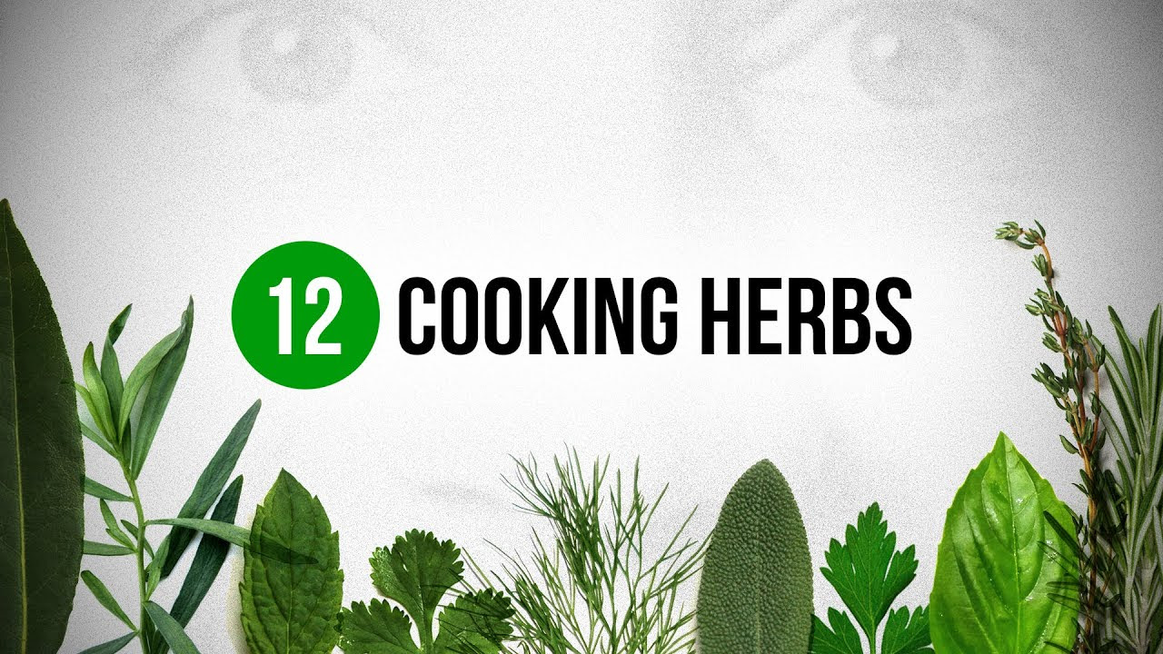 12 Cooking Herbs eve