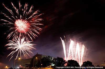 Fireworks in Philadelphia