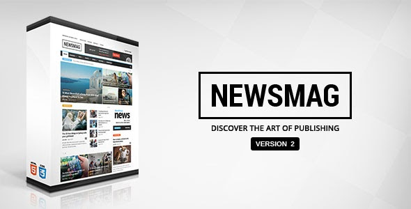 Newsmag v2.3.1 - Themeforest News Magazine Newspaper