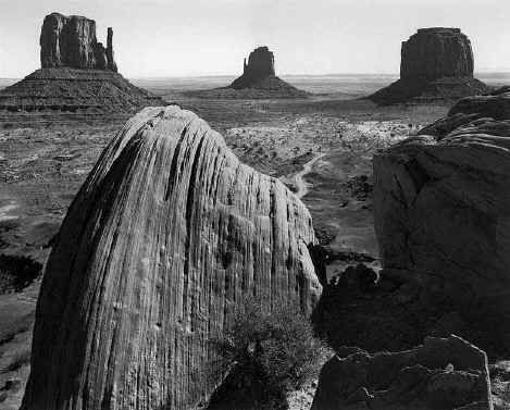 Ansel Adams Momument Valley Arizona