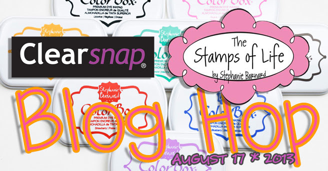 Clearsnap and Stamps of Life Blog Hop FALL 2013