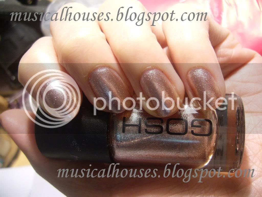 GOSH FrouFrou nail polish NOTD