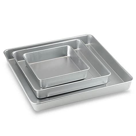 Wilton® 3 Piece Square Cake Pan Set   Bed Bath & Beyond