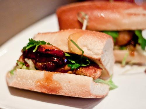 Kung Pow Wow sandwich