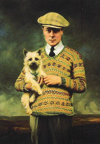Prince of Wales fair isle jumper
