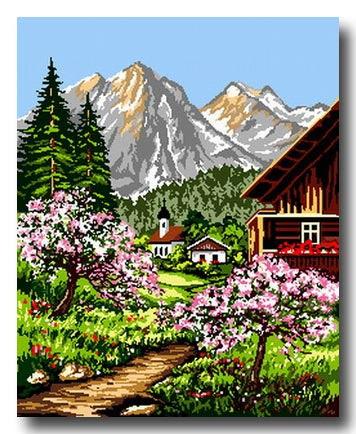 Paesaggi Di Montagna Disegni Portalebambini
