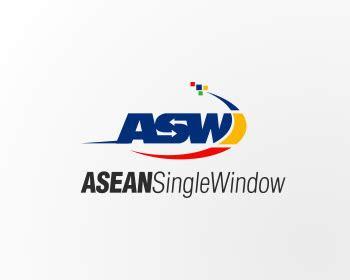 asean single window logo design contest logos  bayudesign