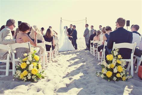I Do {How To's}: Santa Monica Beach Wedding Ceremony   LVL