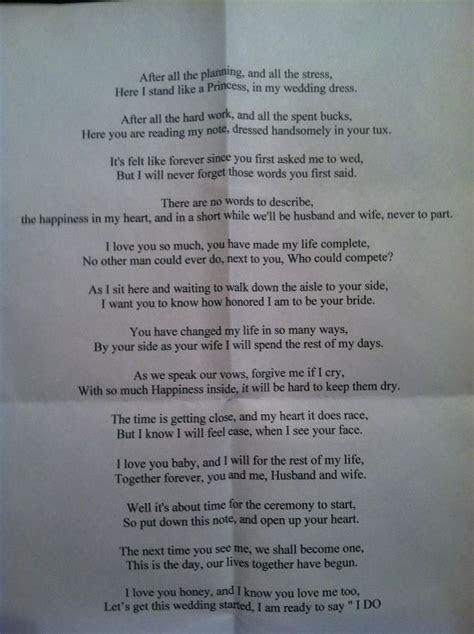 25  best ideas about Wedding poems on Pinterest   Love