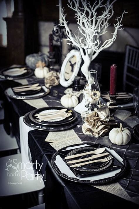 18 Halloween Tablescape Ideas With Impeccable Taste