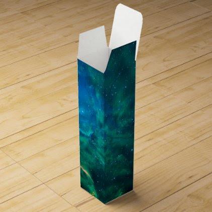 Flaming Star Nebula Wine Gift Box