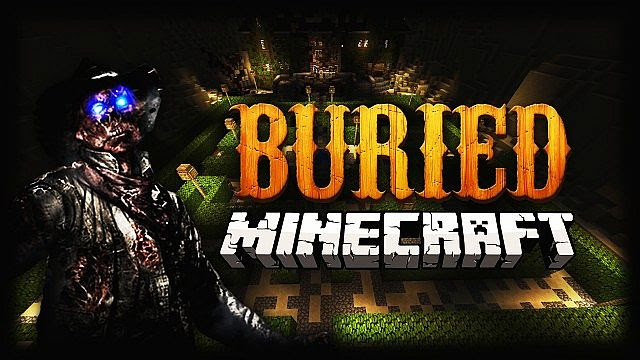 Buried Zombies Map In Minecraft Recreation Minecraft Project